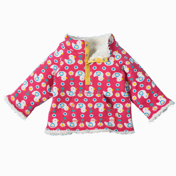 Ditsy Ducks Fleece - Frugi - OrganicFootsteps