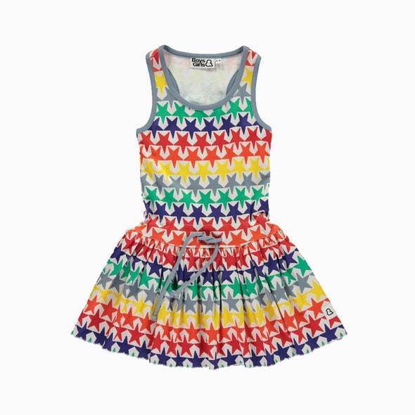 Bright Stars Dress Multicolor - Boys & Girls - OrganicFootsteps
