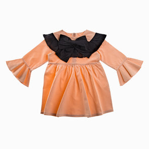 Princess Peach Party Dress - Alemona - OrganicFootsteps