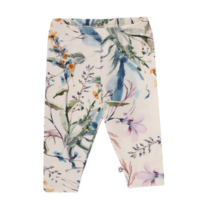 Spicy Botany Leggings - Cream - Muesli - OrganicFootsteps