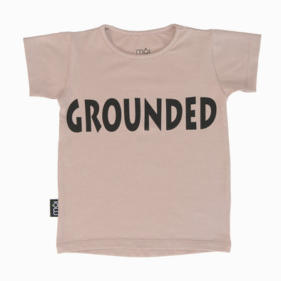 T Shirt - Blush Grounded - Moi - OrganicFootsteps