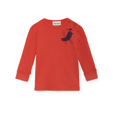 Bird Rib T-shirt - Str. 62-98 - Bobo Choses - OrganicFootsteps