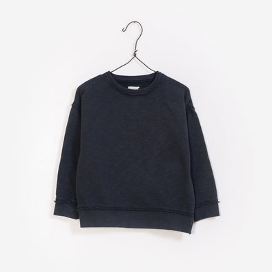 Sweatshirt - Mørkegrå - Play Up - OrganicFootsteps