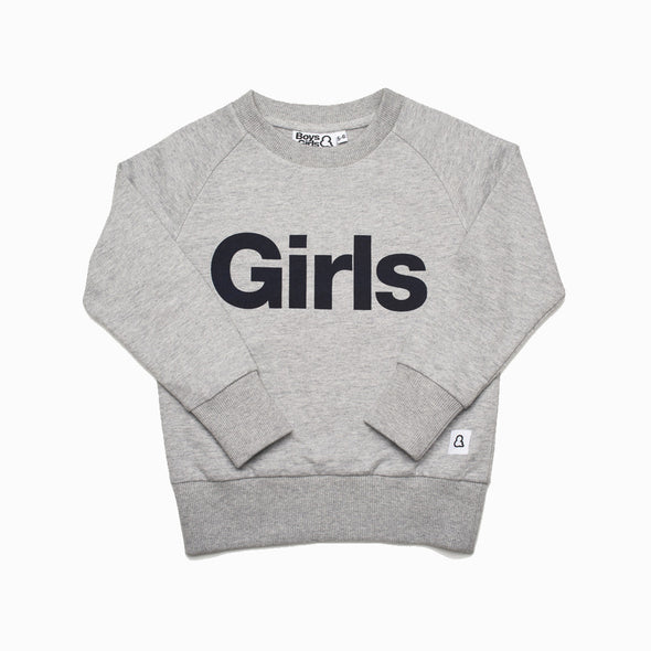 Girls Crew Sweatshirt - Boys & Girls - OrganicFootsteps