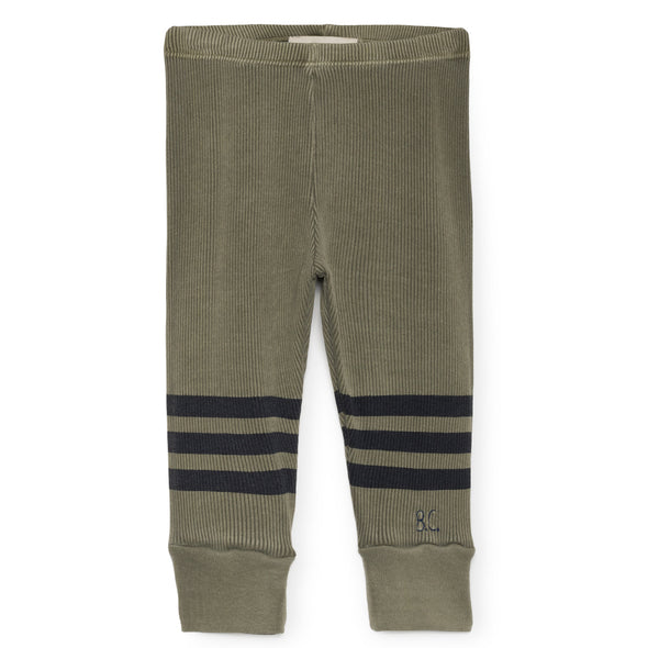 Blue Stripes Leggings - Str. 62-98 - Bobo Choses - OrganicFootsteps