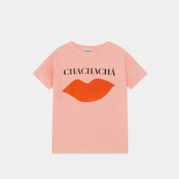 Chachacha Kiss T-shirt - Kid - Bobo Choses - OrganicFootsteps