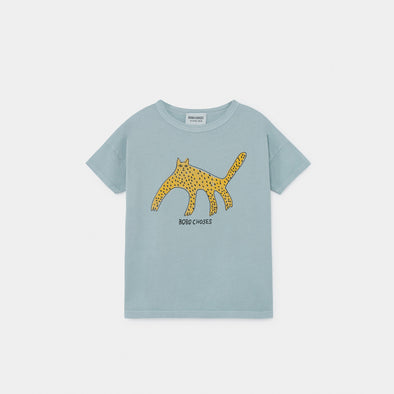 Leopard T-shirt - Kid - Bobo Choses - OrganicFootsteps