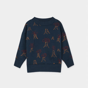 All Over Volcano Sweatshirt - Str. 92-146 - Bobo Choses - OrganicFootsteps