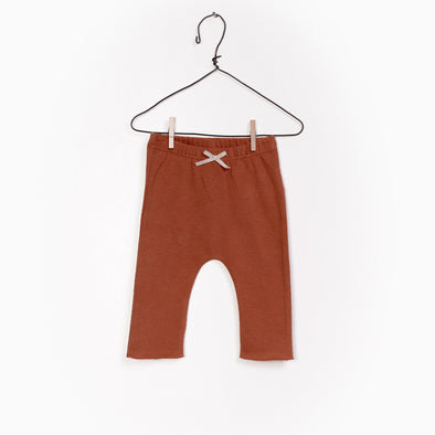 Jersey Leggings - Brændt Brun/Kobber - Play Up - OrganicFootsteps