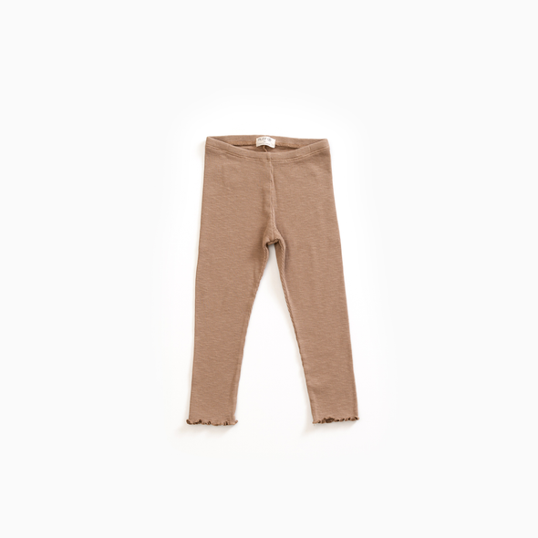 Rib Leggins - Beige - Play Up - OrganicFootsteps