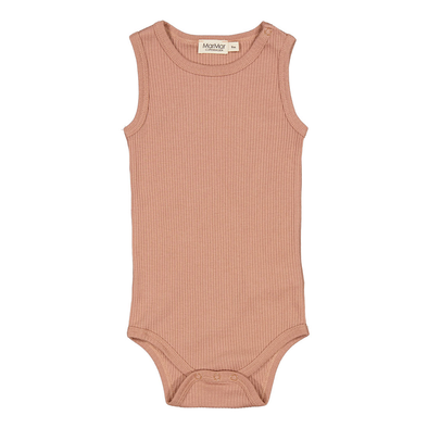 Body - Modal - Sleeveless - Rose Brown - MarMar
