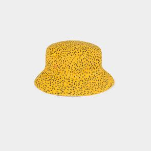 All Over Leopard Hat - Gul - Baby og Kid - Bobo Choses - OrganicFootsteps