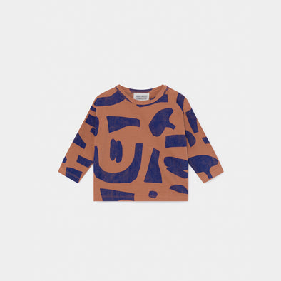 Abstract Longsleeve T-shirt- Baby - Bobo Choses - OrganicFootsteps