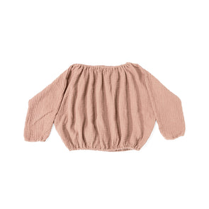 Lily Top - Dusty Pink - Str. 74 - 116 -  Daily Brat