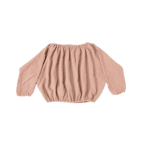 Lily Top - Dusty Pink - Str. 74 - 116 -  Daily Brat - OrganicFootsteps
