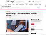 KoreaHallyu Review Article on OxGadgets