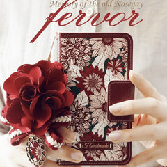 Fervor Hand Made Wallet Case - JessicaCollection