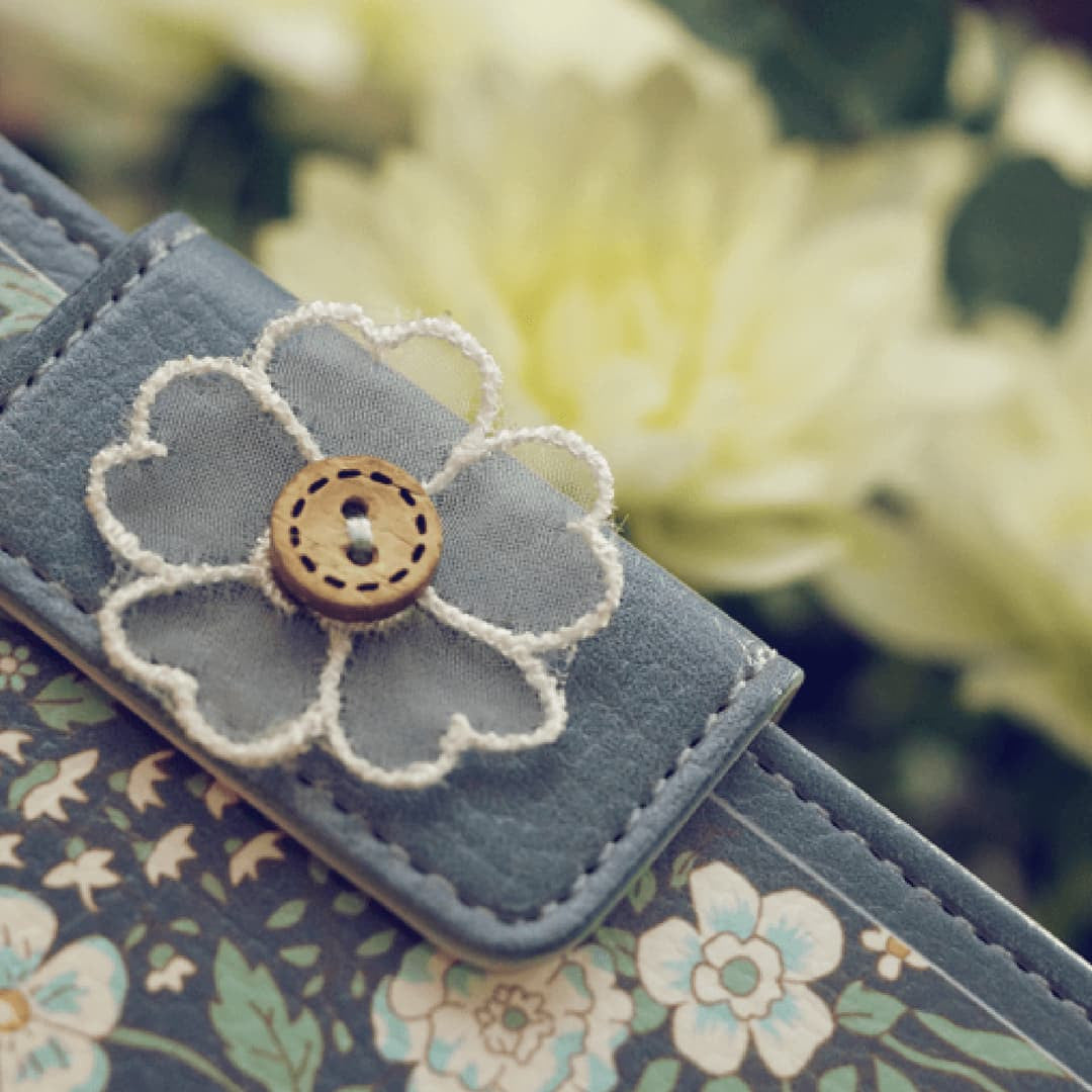 Miss Naive Hand Made Wallet Case - JessicaCollection