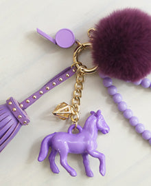 Caballo Phone String - Violet