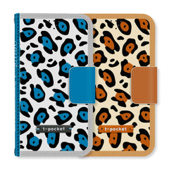 Wild Beast Handmade Wallet Case - Blue - JessicaCollection