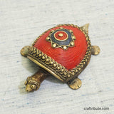 Handcrafted Dhokra Tortoise