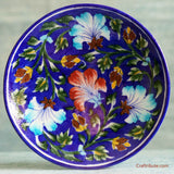 Indigo Hand Painted Decorative Plate