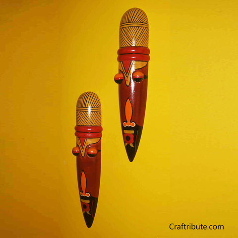 Decorative Wooden Masks