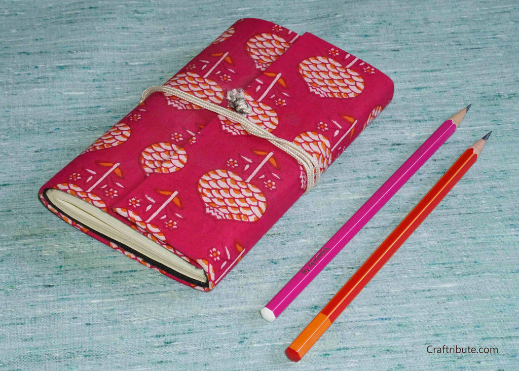 Handmade Paper Notebook with flap