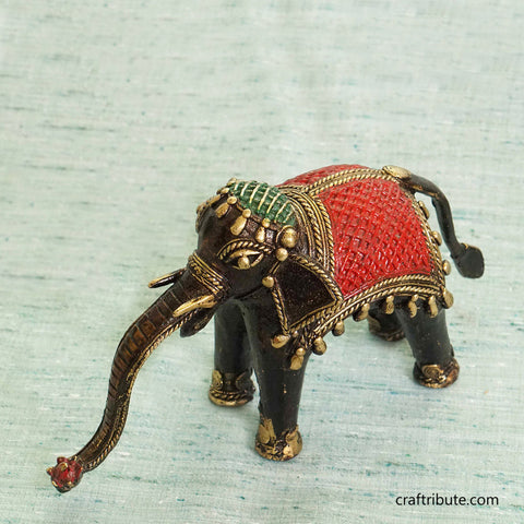 Handcrafted Dhokra Elephant
