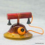 Handcrafted Wooden Telephone