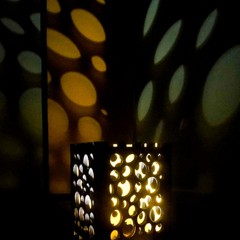 Handmade Wooden Shadow Lamp
