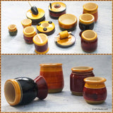 Handcrafted Wooden Kitchen Set - Small