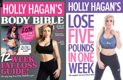 12 Week Body Bible + Lose 5 Pounds In 1 Week Exercise + Diets Books