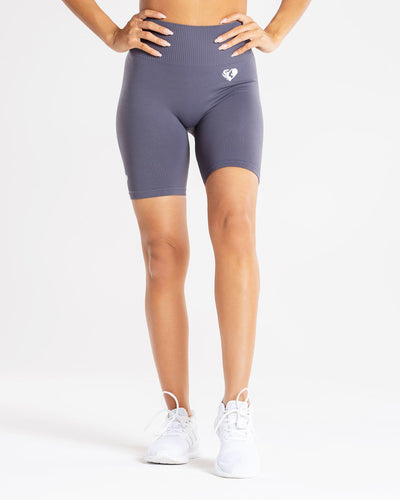 Power Seamless Cycling Shorts | Charcoal