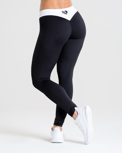 Exclusive Leggings | Black/White