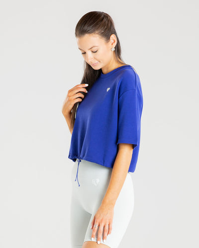 Power Crop Top | Royal Blue
