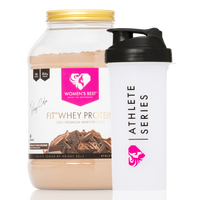 Fit Pro Whey Protein by Krissy Cela & XL Shaker
