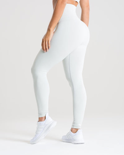 Power Seamless Leggings | Washed Light Grey