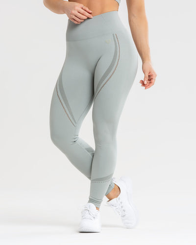 Renew Seamless Leggings | Mud Green