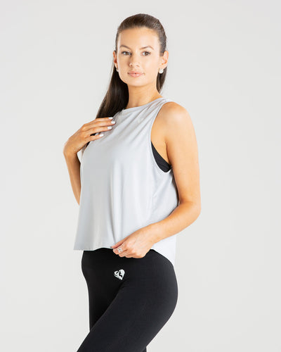 Power Tank Top | Mist Grey