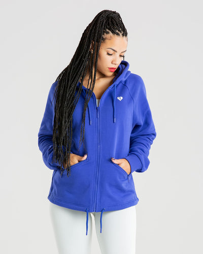 Power Zip Jacket | Royal Blue