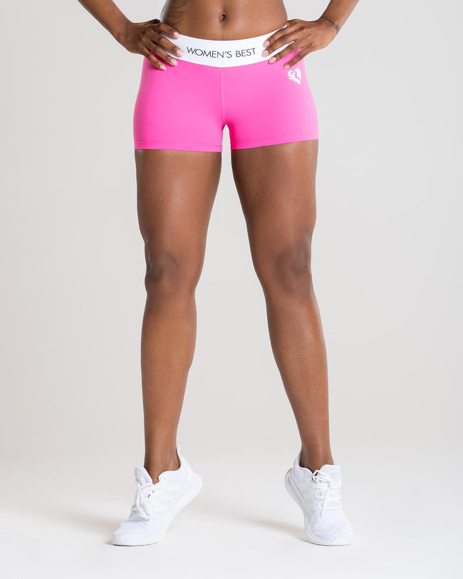 Exclusive Shorts | Pink/White