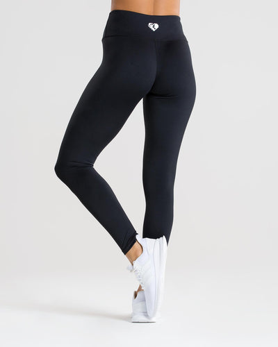 Exclusive High Waisted Leggings | Black