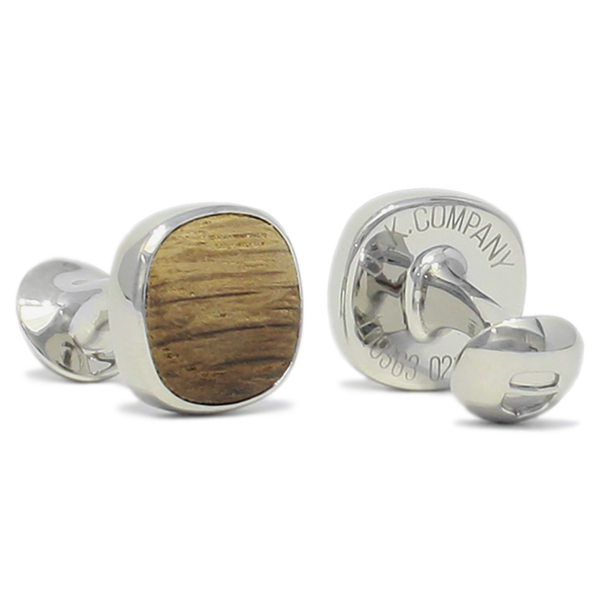 Original OAK Company AB Cufflinks - OAK Cufflinks Steel