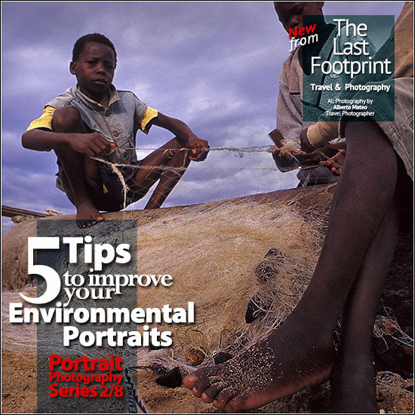 Five Tips to improve your Environmental Portraits.
