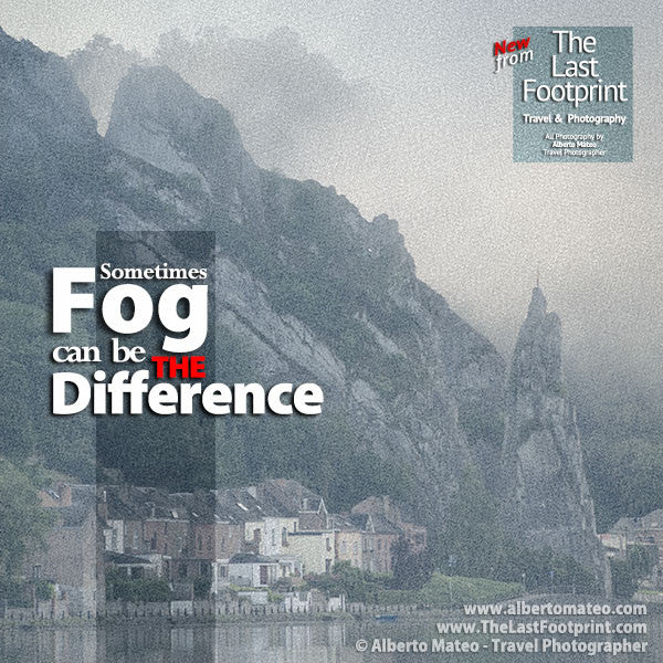 Sometimes Fog can be the Difference in your Landscape Photography