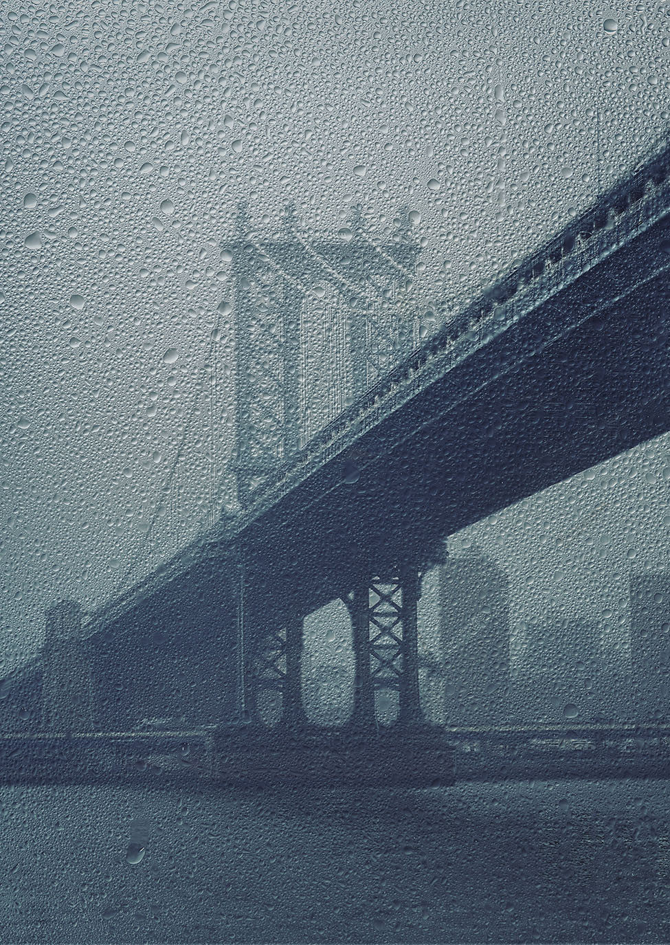 New York Through the Rain