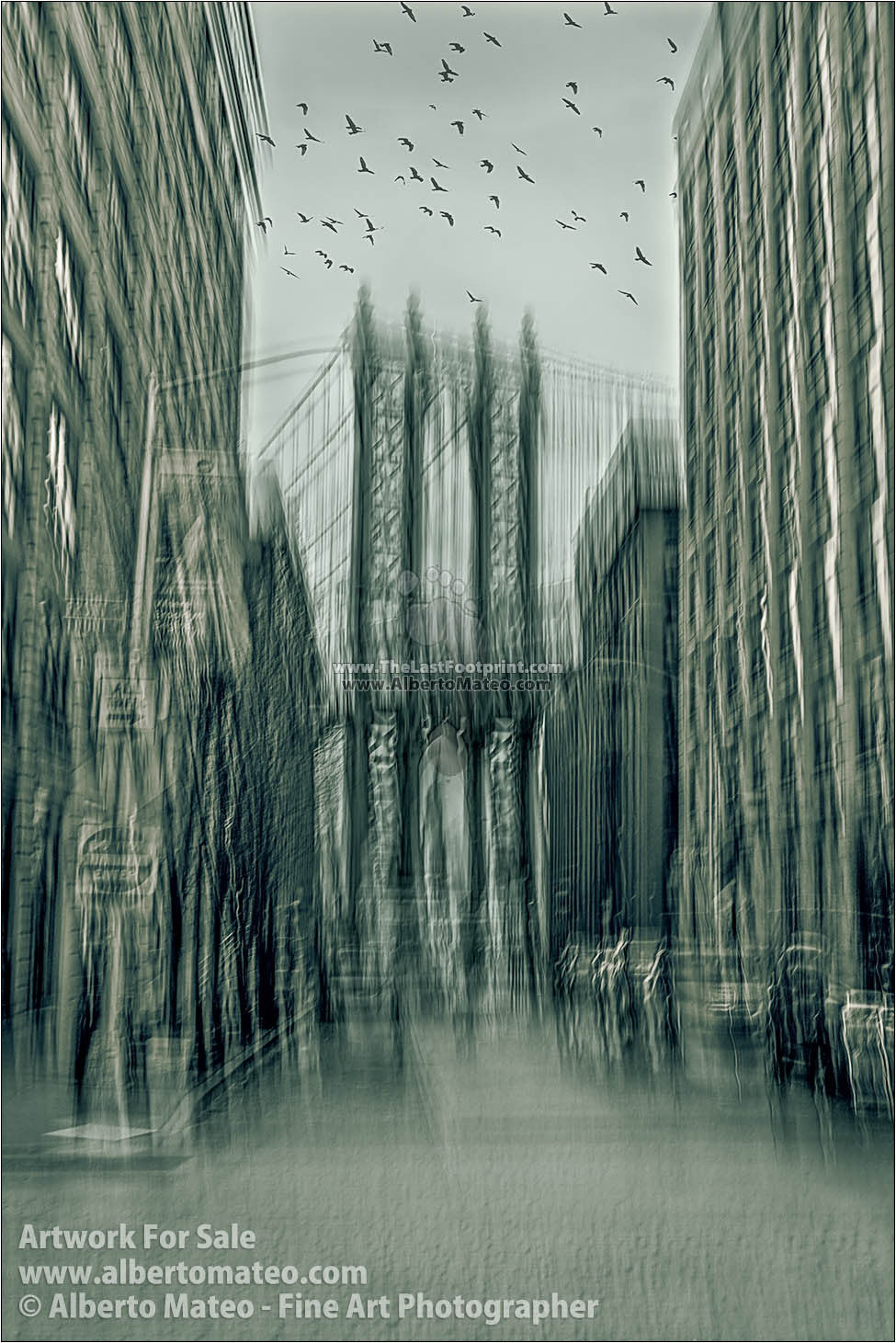 Manhattan Bridge, 'Way to Freedom' Series. | Limited Edition Fine Art Print.