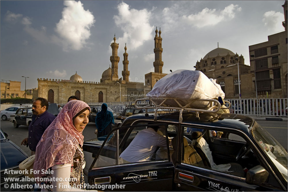 Arab Woman in Al Azhar, El Cairo, Egypt.