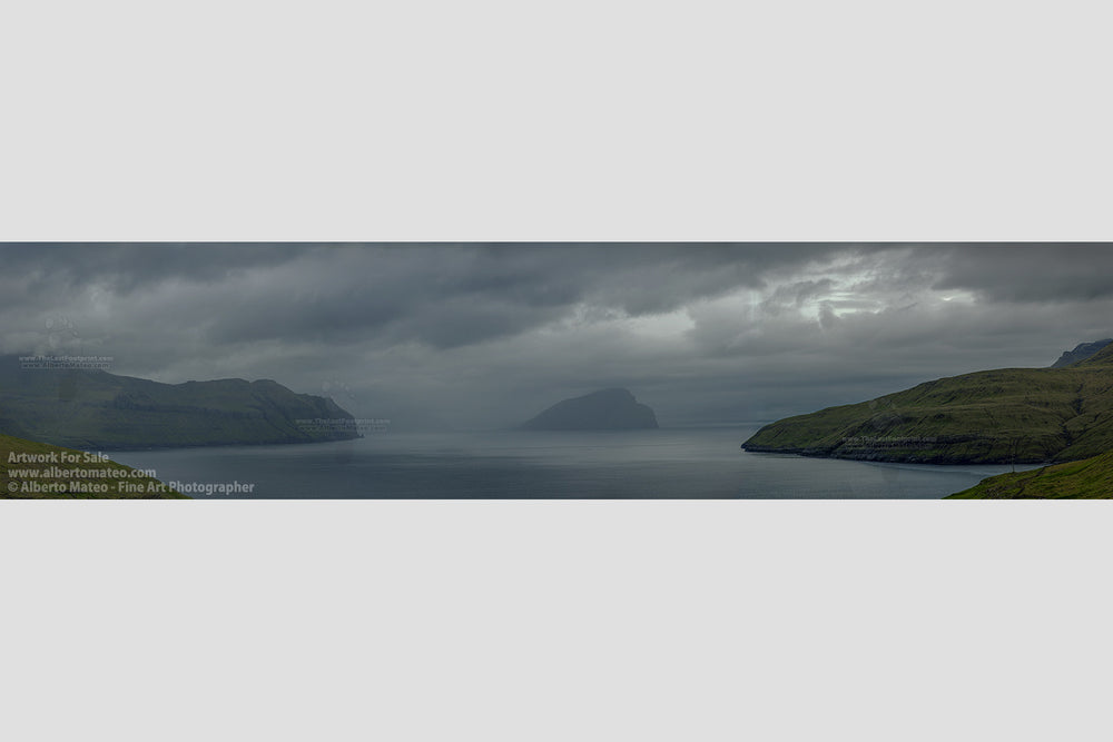 Mykines Island Panorama, Faroe Islands. | Giant Limited Edition Print.